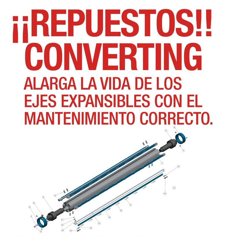 Repuestos converting