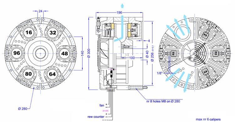 Frenos-neumáticos-monodisco-COMBIREX-RENOVA-RCC-INDUSTRIAL-dimensiones