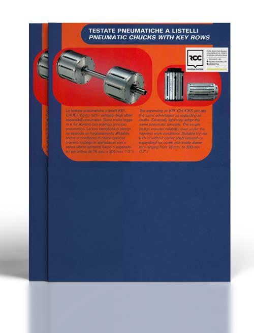 Catálogo de cabezales neumáticos a chavetas largas