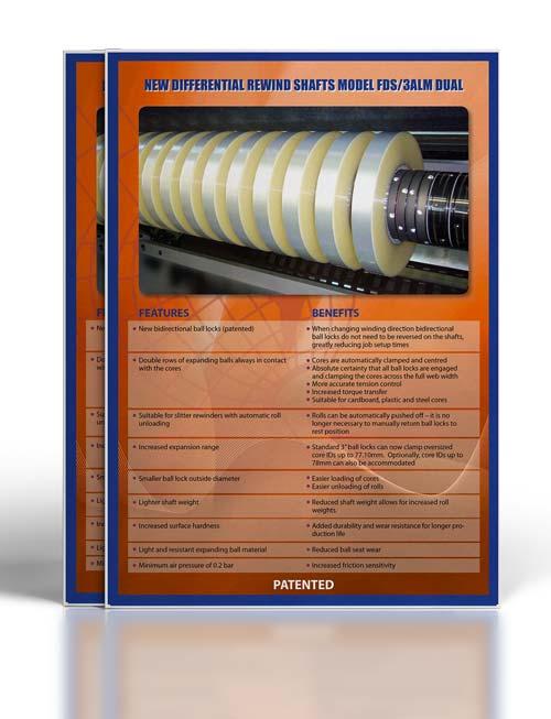 Catálogo de ejes diferenciales FDS-3ALM